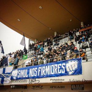 AC Oulu on vaikeassa tilanteessa. Joukkue tarvitsee tukea enemmän kuin koskaan (Kuva: Jouko Kylmäoja)