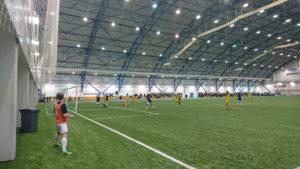 AC Oulu ja OLS kohtasivat harjoitusottelussa tammikuussa. Ottelu päättyi tasalukemiin 1-1.