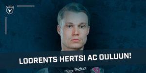 Loorents Hertsi tuo AC Ouluun reilusti Veikkausliigakokemusta (Kuva: Aleksi Tikkala / FC Lahti)