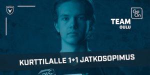 Go On Team Oulun kummipelaaja Samuel Kurttila jatkaa AC Oulussa 1+1 vuoden sopimuksella.