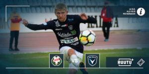 AC Oulu ja FF Jaro ovat tuttuja kilpakumppaneita viime vuosilta (Kuva: Elias Mustonen)