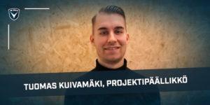 Tuomas Kuivamäki aloittaa AC Oulu projektipäällikkönä välittömästi