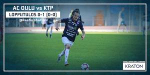 AC Oulu on pelannut kotikentällä käsittämättömät viisi ottelua ilman tehtyä maalia (Kuva: Elias Mustonen)