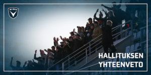 AC Oulun kannattajien toiminta on kasvanut vuosi vuodelta (Kuva: Elias Mustonen)