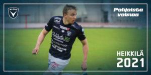 Aapo Heikkilä jatkaa uraansa AC Oulun paidassa (Kuva: Elias Mustonen)