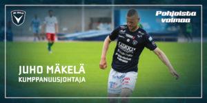 Juho Mäkelä vahvistaa AC Oulua myös toimiston puolella (Kuva: Elias Mustonen)