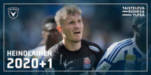 Kristian Heinolainen on pelannut Veikkausliigaa PS Kemin paidassa