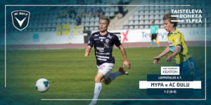 AC Oulu haki tärkeän vierasvoiton! (Kuva: Elias Mustonen)
