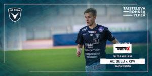 Henrik Ölander syötti ottelun voittomaalin VPS-ottelussa (Kuva: Elias Mustonen)