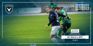 Aapo Heikkilä teki AC Oulun ainokaisen (Kuva: Elias Mustonen)