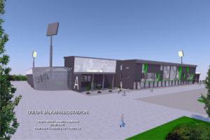 Stadionista tulisi AC Oulun uusi koti (Kuva: Arktes / Katarauna Consulting)