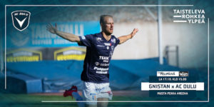Niklas Jokelainen palaa kokoonpanoon. Mies tuuletti maalia joukkueiden edellisessä kohtaamisessa Raatissa (Kuva: Elias Mustonen)