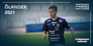 Henrik Ölander pelasi upean kauden 2020 (Kuva: Elias Mustonen)