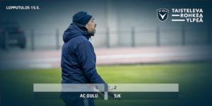 Jyrki Aholan johtamalla joukkueella riittää mietittävää (Kuva: Elias Mustonen)