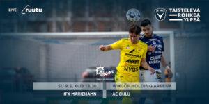 AC Oulun tulee parantaa puolustuspeliä omassa boksissa (Kuva: Elias Mustonen)
